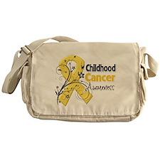 Childhood Cancer Messenger Bag