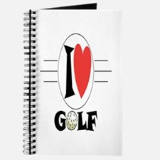 I Love Golf Journal