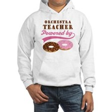 Orchestra Teacher Powered By Donuts Hoodie