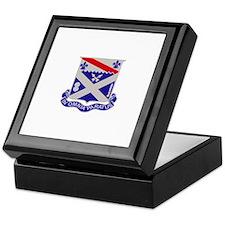 DUI - 2nd Battalion 18th Infantry Rgt Keepsake Box