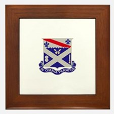 DUI - 2nd Battalion 18th Infantry Rgt Framed Tile