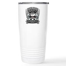 USN Navy 1775 Skull Travel Mug