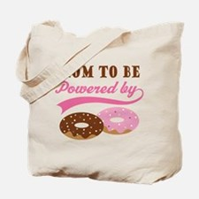 Mom To Be Donuts Tote Bag