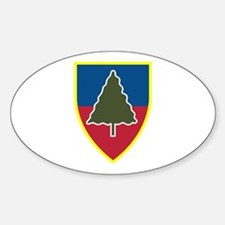 1st Squadron 91st Infantry Regiment Sticker (Oval)