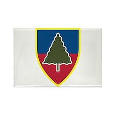 1st Squadron 91st Infantry Regiment Rectangle Magn
