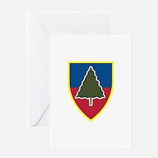 1st Squadron 91st Infantry Regiment Greeting Card