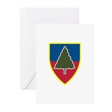 1st Squadron 91st Infantry Regiment Greeting Cards