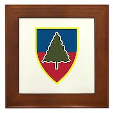 1st Squadron 91st Infantry Regiment Framed Tile