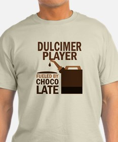 Dulcimer Player Powered By Donuts T-Shirt