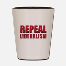 Repeal 5 Red Shot Glass