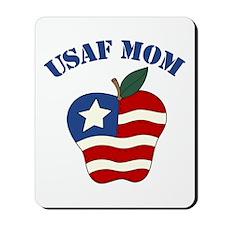 Air Force Mom Patriotic Apple Mousepad