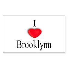 Brooklynn Rectangle Decal
