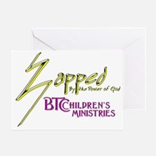 Zapped Logo Greeting Card