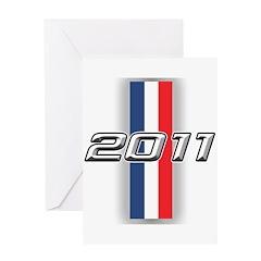 Cars 2011 Greeting Card