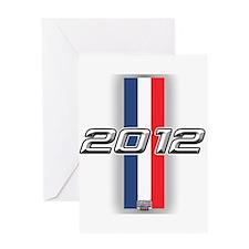 Cars 2012 Greeting Card