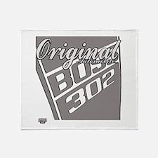 Original Boss 302 Throw Blanket