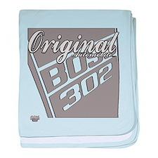 Original Boss 302 baby blanket