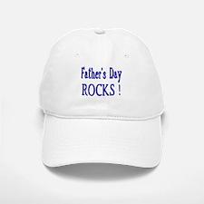 Father's Day Rocks ! Baseball Baseball Cap
