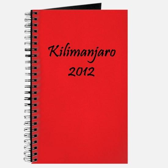 Kilimanjaro 2012 Journal