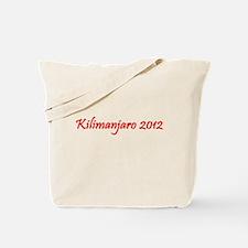 Kilimanjaro 2012 Tote Bag