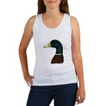 Mallard Drake Head Women's Tank Top