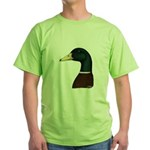 Mallard Drake Head Green T-Shirt