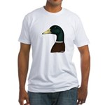 Mallard Drake Head Fitted T-Shirt