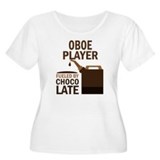 Oboe Player Powered By Donuts T-Shirt