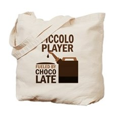 Piccolo Player Powered By Donuts Tote Bag