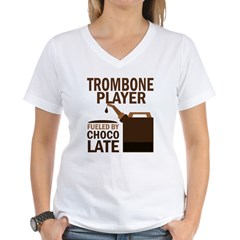 Trombone Player Powered By Donuts Shirt