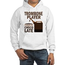 Trombone Player Powered By Donuts Jumper Hoody