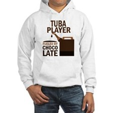 Tuba Player Powered By Donuts Hoodie