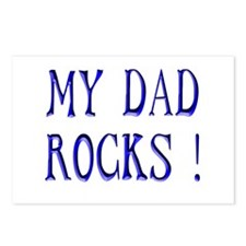 My Dad Rocks ! Postcards (Package of 8)