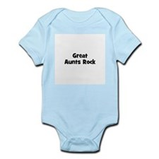 Great Aunts Rock Infant Creeper