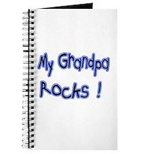 My Grandpa Rocks ! Journal