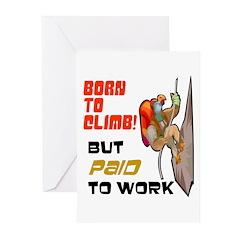 Born to Climb! Greeting Cards (Pk of 10)