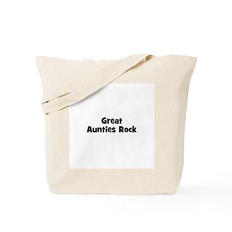 Great Aunties Rock Tote Bag