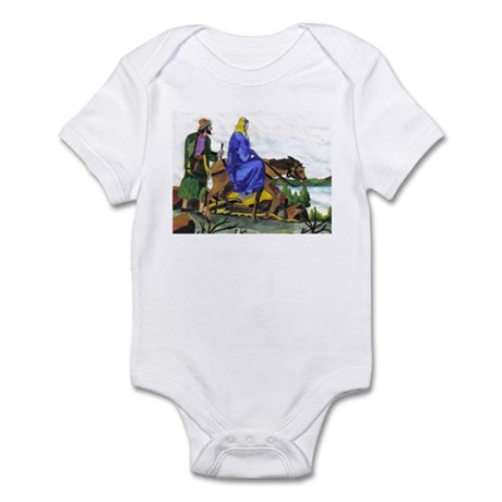 Mary and Joseph by pabear48 Infant Bodysuit