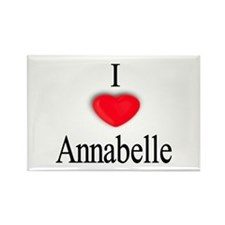 Annabelle Rectangle Magnet