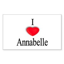 Annabelle Rectangle Decal