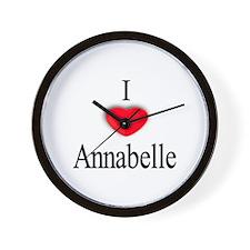 Annabelle Wall Clock