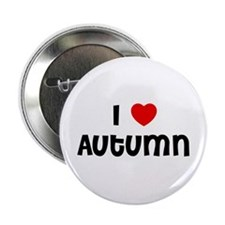 "I * Autumn 2.25"" Button (10 pack)"