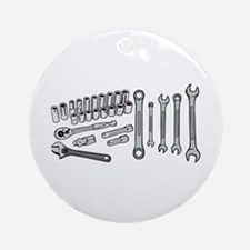 Wrenches Ornament (Round)
