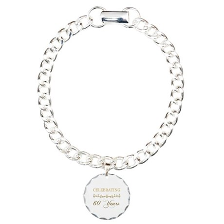 Celebrating 60 Years Charm Bracelet, One Charm