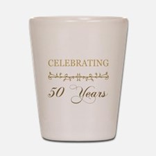 Celebrating 50 Years Shot Glass