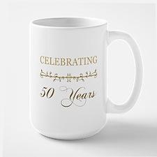 Celebrating 50 Years Large Mug