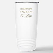 Celebrating 50 Years Stainless Steel Travel Mug