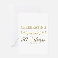 Celebrating 50 Years Greeting Card