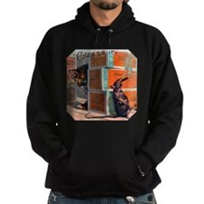 Cheese It Rat Cigar Label Hoodie