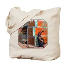 Cheese It Rat Cigar Label Tote Bag